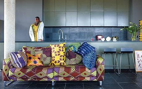 Apportez une touche d'Afrique dans votre déco grâce au pagne
